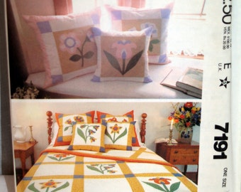 McCalls Home Decorating Pillow Essentials Uncut Pattern #8661