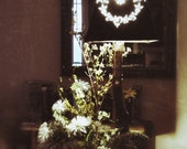 Tin Heart Floral- Lamp Shade