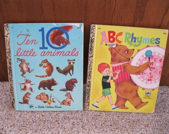 2 Little Golden Books