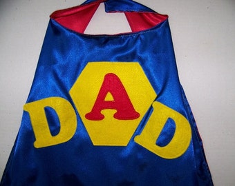 ADULT double-sided customized capes
