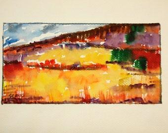 Watercolor Original dreams number 31