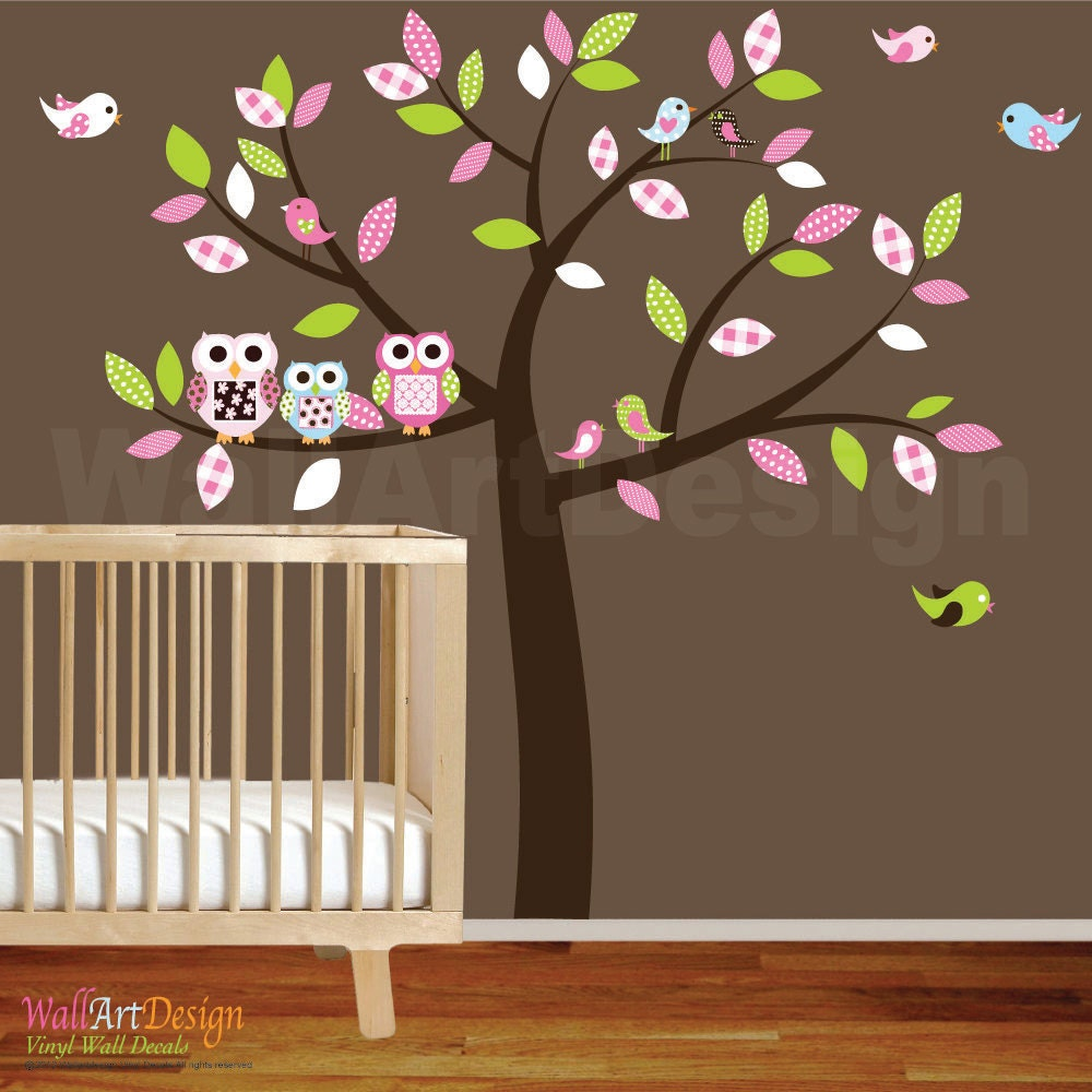 Baby Nursery Wall Decal Baby Girl Wall Decals Wall Sticker