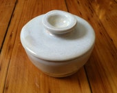 French butter keeper, butter holder, butter dish, French butter crock, Butter storage, Store Butter at Room Temperature