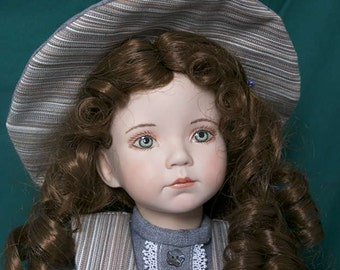 Tessie-porcelain doll