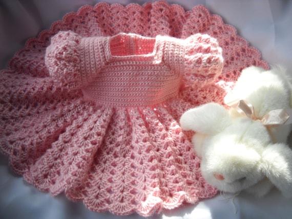 hnliche artikel wie rosa prinzessin baby kleid h keln kind 3 bis 6 monate auf etsy. Black Bedroom Furniture Sets. Home Design Ideas