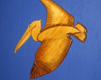Pelican Wall Hanging, Wall Plaque