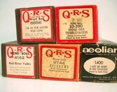 Vintage Player Piano Music Player Piano Rolls