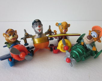 Tail Spin Diecast Airplanes - McDonald's Happy Meal Set