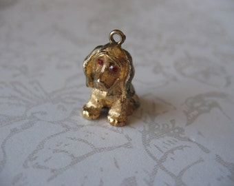Sweet Puppy Dog Charm