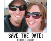 Save the Date Magnet with your Photo