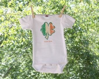 St. Patrick's Day Wee Lass -Infant Bodysuit -TR