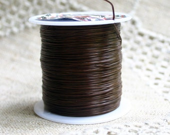 Elastic Cord 0.5mm Brown 75m Spool Stretch Floss Bracelets