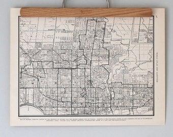 Toronto 1930s Map | Antique Canada City Map