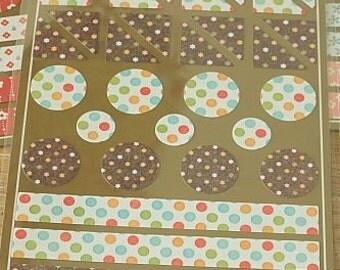 Stickers-Labels-Deco Stickers-Index Labels-Envelope Seals-Photo Corners