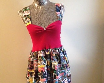 Star Wars High Waisted Flippy Party Disney Retro Dress