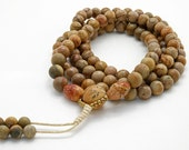 Landscape Stone mala - full 108 bead mala with 8mm stone beads
