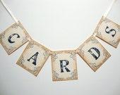 Wedding Cards Banner Garland