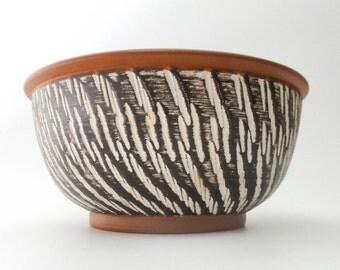 Vintage Mid Century Fat Lava Bowl Dumler Breiden