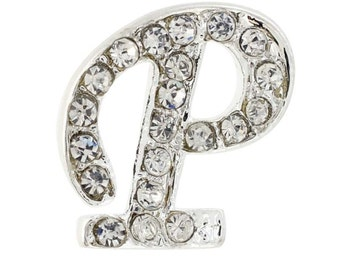 Letter P Tag Pin Brooch Pin 101230P