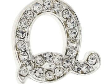 Letter Q Tag Pin Brooch Pin 101230Q