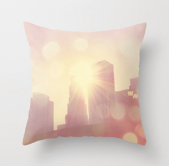 Decorative Pillows Covers 18x18 : decorative throw pillow cover 18x18 16x16 pink pillow cover