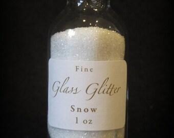 SNOW Glass Glitter From Germany by cheswickcompany