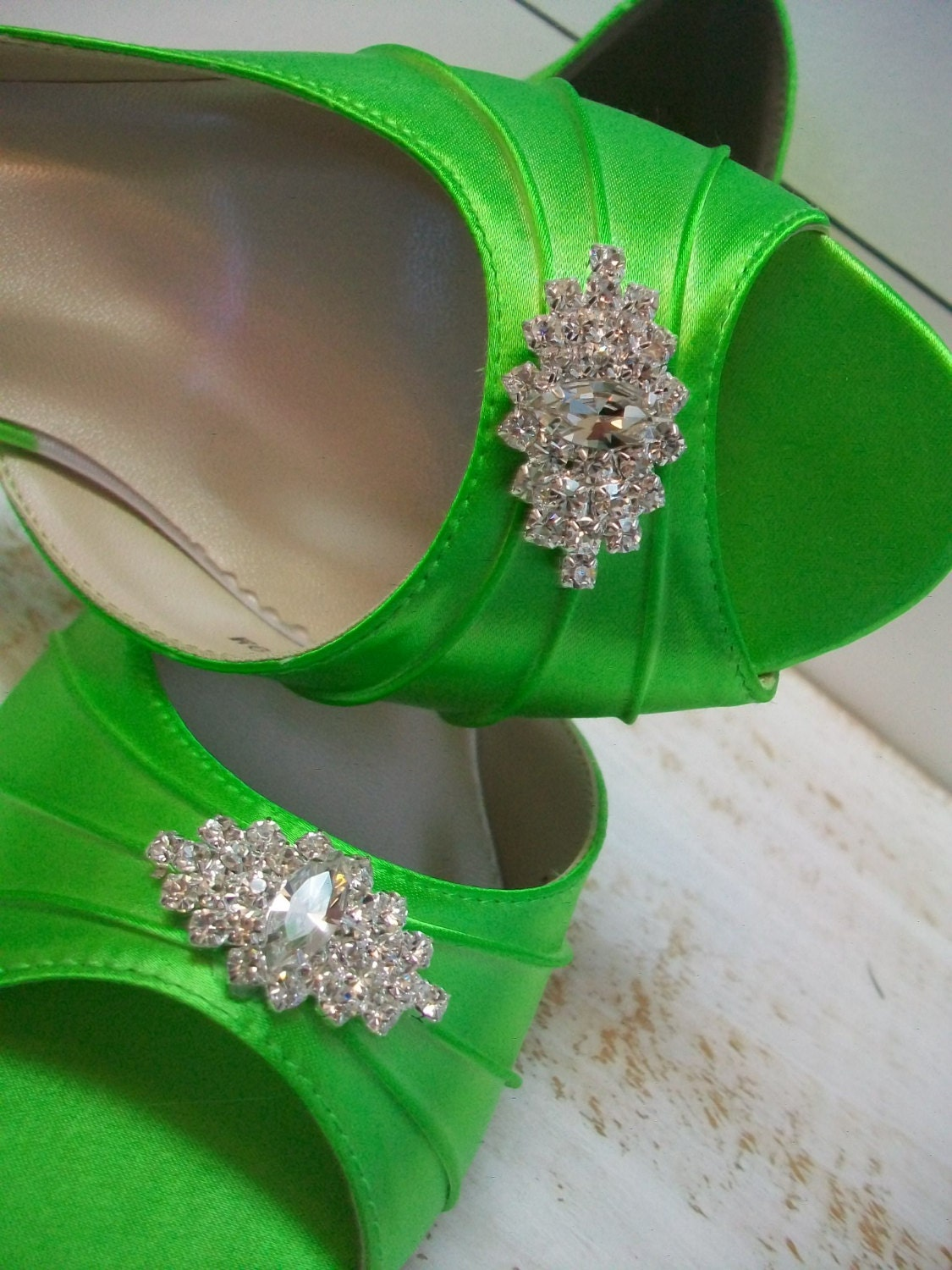 Lime Green Wedding Shoes Over 200 Colors Dyeable Shoes