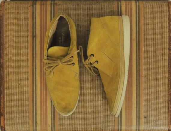 Men's Suede Bally Chukka Boots / 9.5