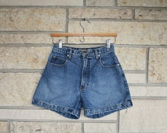 Vintage High Waisted Jean Shorts • Denim Shorts