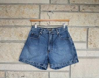 Vintage High Waisted Jean Shorts • Denim Shorts