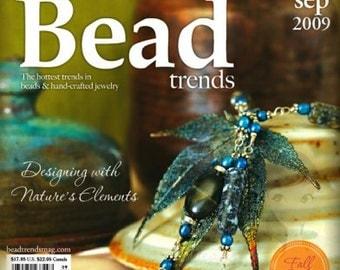 NEW Bead Trends Magazine September 2009 SBC