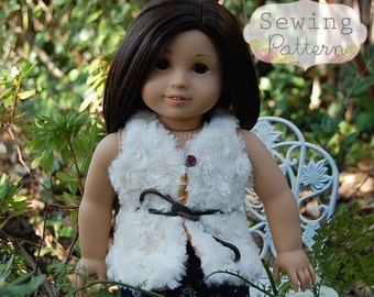 INSTANT DOWNLOAD- Coco Doll Vest PDF Sewing Pattern and Tutorial