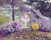 Lilac Garden & Mason Jar Templates