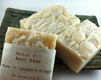 Motor Oil Beer Soap