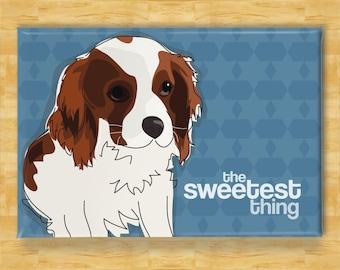 Cavalier King Charles Spaniel Magnet - The Sweetest Thing - Cavalier King Charles Spaniel Gifts Dog Fridge Refrigerator Magnets