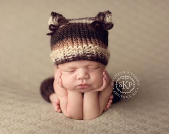 Download PDF knitting pattern k-30 - Newborn Kitty hat and leg warmers