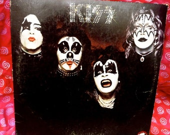 Vintage KISS 1974 Casablanca Stereo Record Album LP 70's