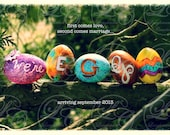 We're EGGspecting Easter Pregnancy Announcement (You Print)