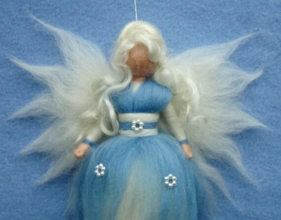 needle felted angel instructions