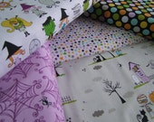SALE Too Cute to Spook  Bella Blvd Riley Blake Designs  1/2 Yard Bundle of 5 Prints