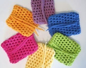 Crochet Soap Saver, Choose Your Color
