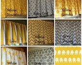 HOLIDAY  Window Curtain Valance Premier Prints Corn Yellow and Grey Collection