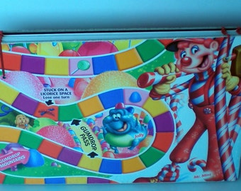 Candyland Game Board Blank Book Ethiopian Coptic Stitch Sketchbook