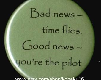 Good And Bad News Button