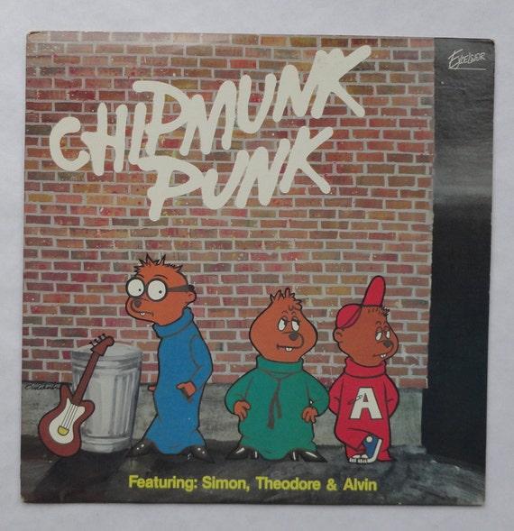 "Rare ""Chipmunk Punk"" Vinyl Soundtrack (1980) - Very Good Condition"