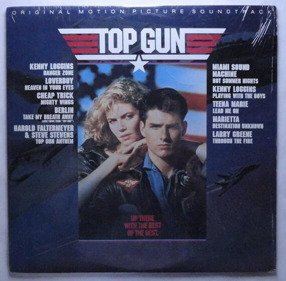 Top Gun Vinyl Soundtrack 1986 Kenny Loggins Miami By