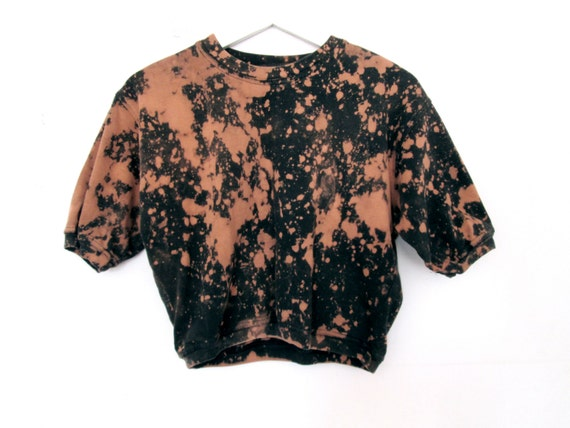 90's Grunge Dyed  Crop Top size - S/M