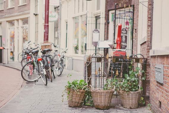 Bike Photography, Travel Photography, Europe Print, Amsterdam, Spring Decor, Urban Decor - Bikes in Amsterdam