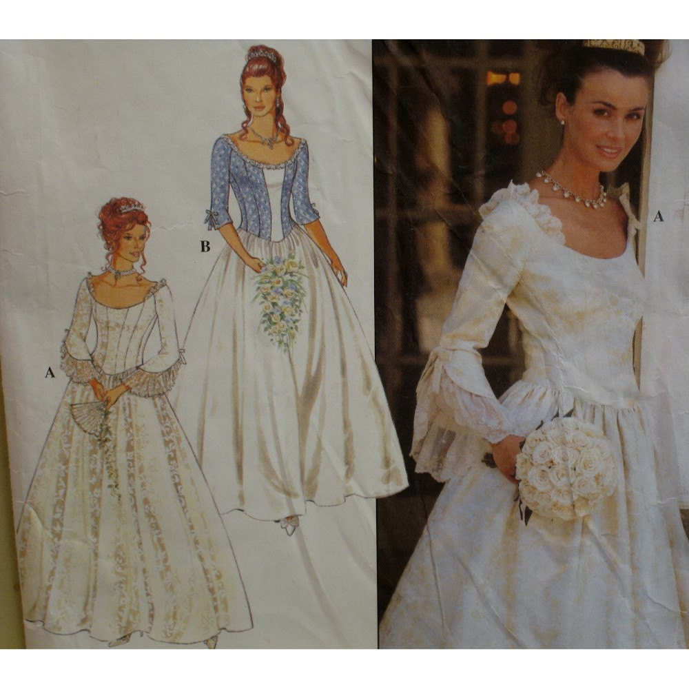 Renaissance style wedding gown pattern fitted by voguevixens for Renaissance inspired wedding dress