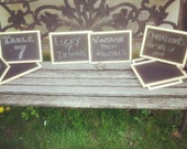 WEDDING EVENT CHALKBOARDS 8 X 10